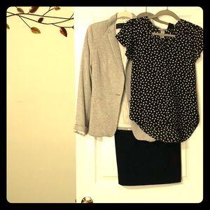 Theory brand black dress